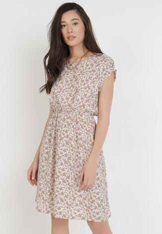 Biała Sukienka Messeilise