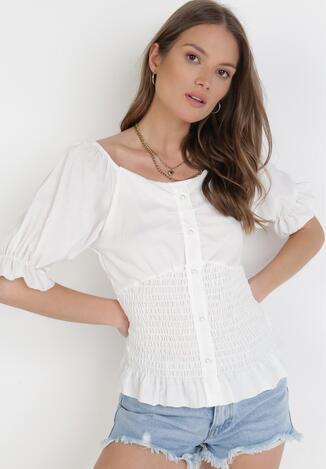 Biała Bluzka Kaphose