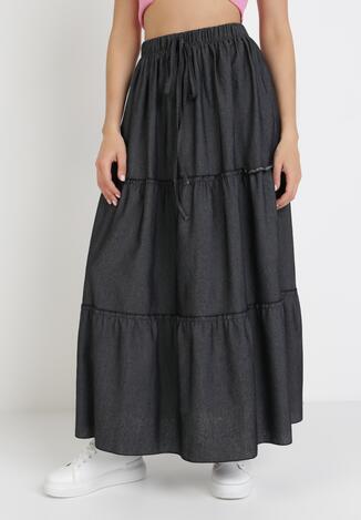 Czarna Spódnica Acalenis