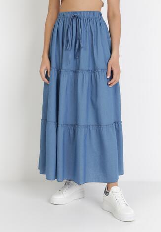 Niebieska Spódnica Acalenis
