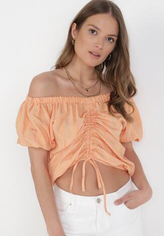 Pomarańczowa Bluzka Aethenis
