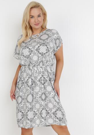 Biała Sukienka Daphnithe