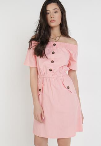 Różowa Sukienka Ophiinix
