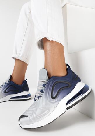 Granatowe Sneakersy Telegina