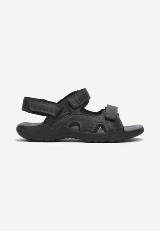 Czarne Sandały Oriphisei
