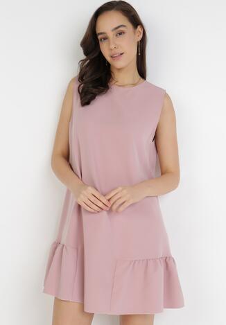 Różowa Sukienka Acosisia