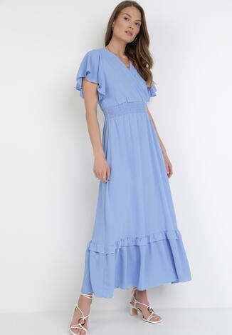 Niebieska Sukienka Sylphixie