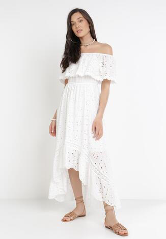 Biała Sukienka Pixypise