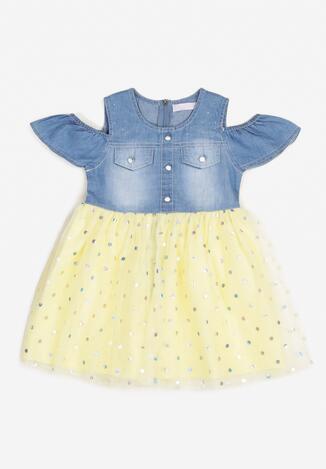 Żółta Sukienka Ethusei