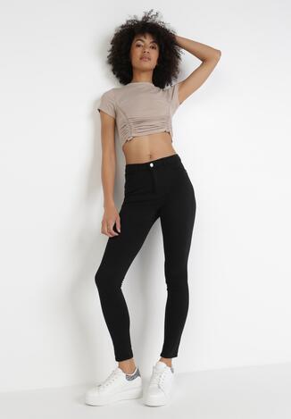 Czarne Spodnie Skinny Astranthe