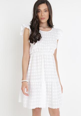 Biała Sukienka Ciropheu