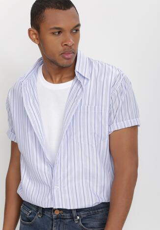 Biało-Niebieska Koszula Othriphi