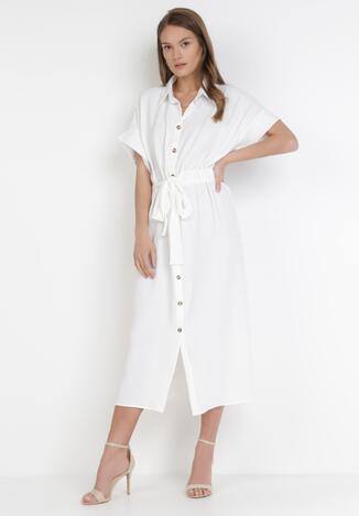 Biała Sukienka Cnasselsa