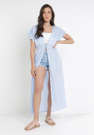 Jasnoniebieska Sukienka Plażowa Castionis