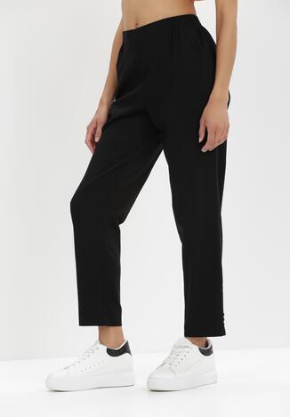 Czarne Spodnie Phrixetis