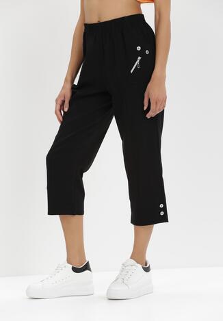 Czarne Spodnie Adrasacia