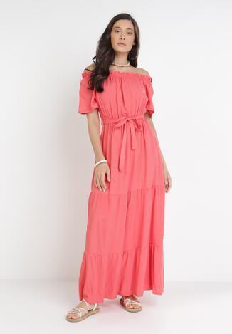 Koralowa Sukienka Kissorise