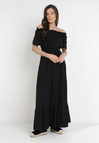 Czarna Sukienka Kissorise