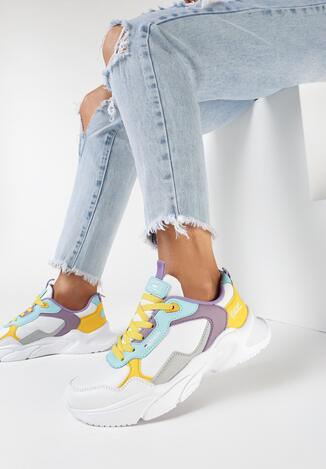 Białe Buty Sportowe Hysia