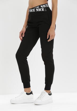 Czarne Spodnie Dresowe Isiphi