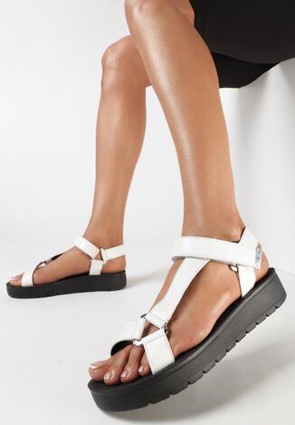 Białe Sandały Acosophi
