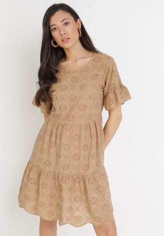 Brązowa Sukienka Calyphophis