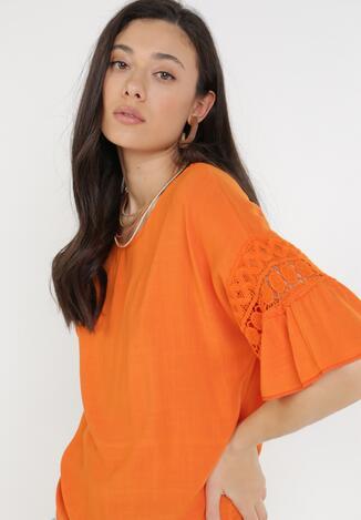 Pomarańczowa Bluzka Chaliophai