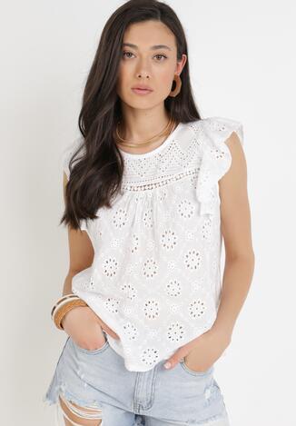 Biała Bluzka Athilisei