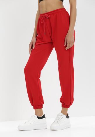 Czerwone Spodnie Dresowe Antheis