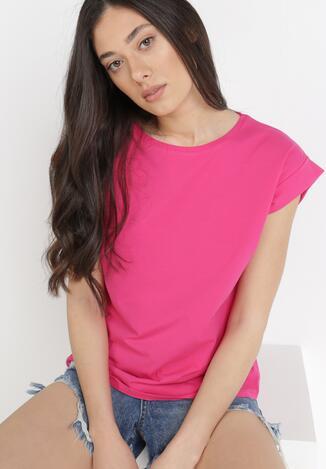 Fuksjowy T-shirt Kisenia