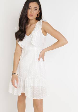 Biała Sukienka Sinophis