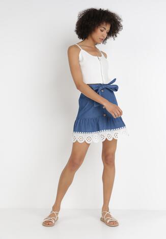 Niebieska Spódnica Thosia