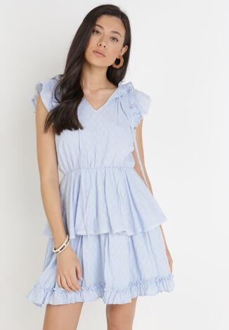 Jasnoniebieska Sukienka Nixistae