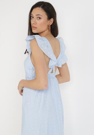 Jasnoniebieska Sukienka Theisymes