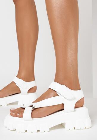 Białe Sandały Pixiphei