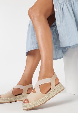 Beżowe Sandały Nixiphae