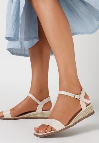 Beżowe Sandały Mathiphite