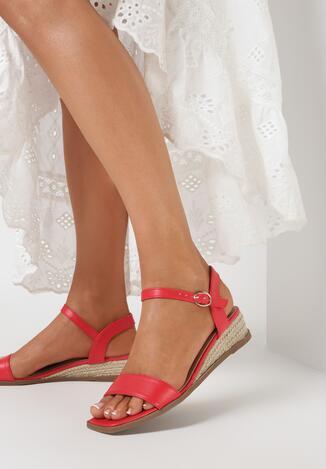 Czerwone Sandały Mathiphite
