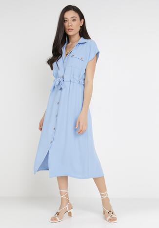 Jasnoniebieska Sukienka Savareilla