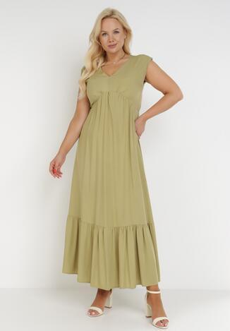 Zielona Sukienka Astrali
