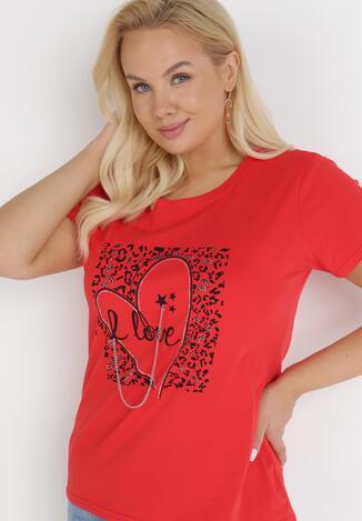 Czerwony T-shirt Physice