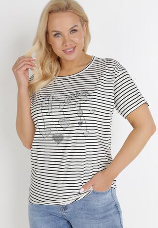 Biały T-Shirt Theamethe