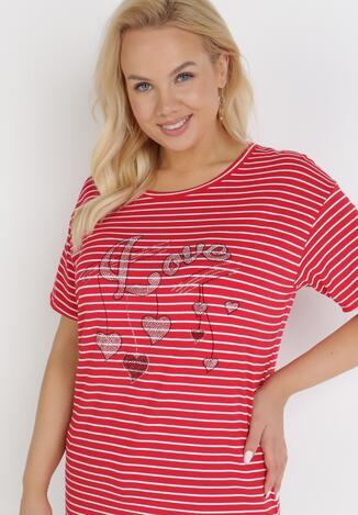 Czerwony T-Shirt Theamethe
