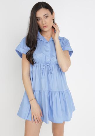 Niebieska Sukienka Iasertise