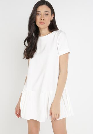 Kremowa Sukienka Athizose