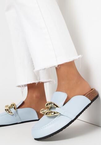 Niebieskie Klapki Kallireanes