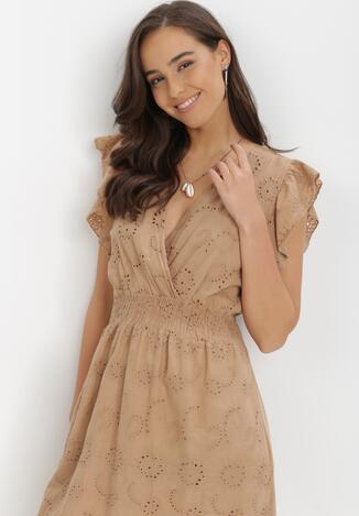 Brązowa Sukienka Athali