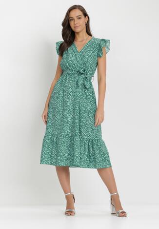 Zielona Sukienka Yhrtyz