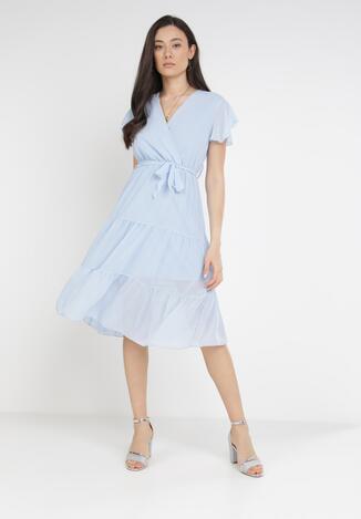 Jasnoniebieska Sukienka Charnil