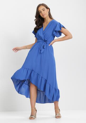 Niebieska Sukienka Jhorahr